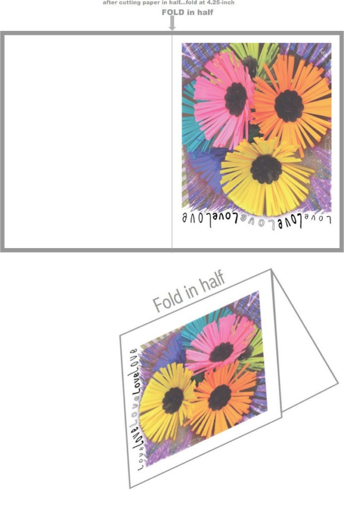 How To Make Your Own Folded Cards Best Size For Do It