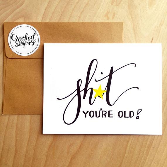 Inappropriate Birthday Card Funny Birthday Card
