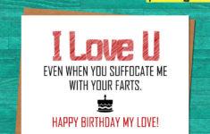 Printable Birthday Cards For Husband