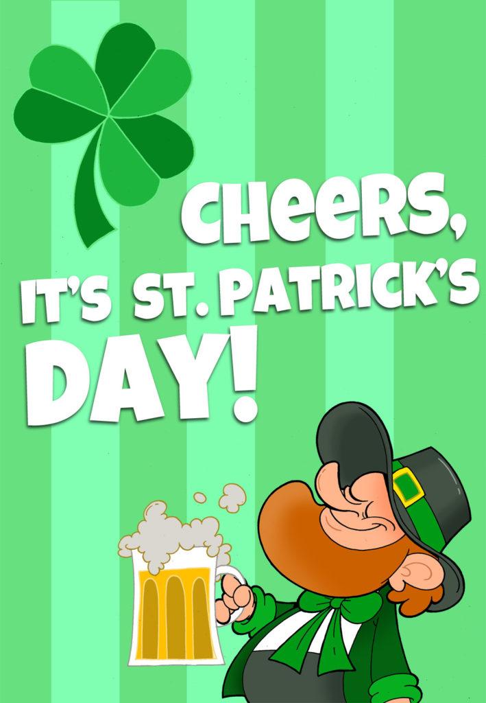 Its St Patricks Day St Patrick s Day Card Free