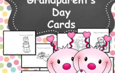 Printable Birthday Cards For Grandparents