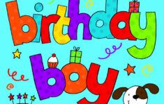 Free Printable Birthday Cards For 2 Year Old Boy
