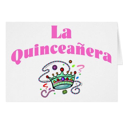 La Quinceanera Card Zazzle