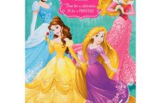 Disney Birthday Cards Printable
