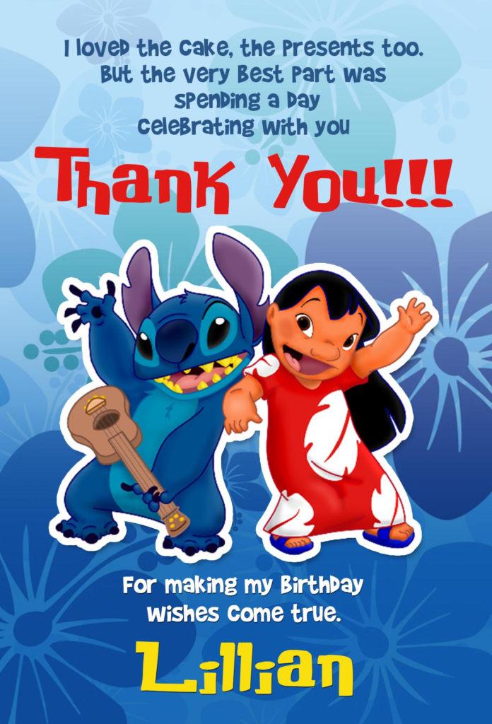 Lilo And Stitch Invitation Lilo And Stitch Birthday