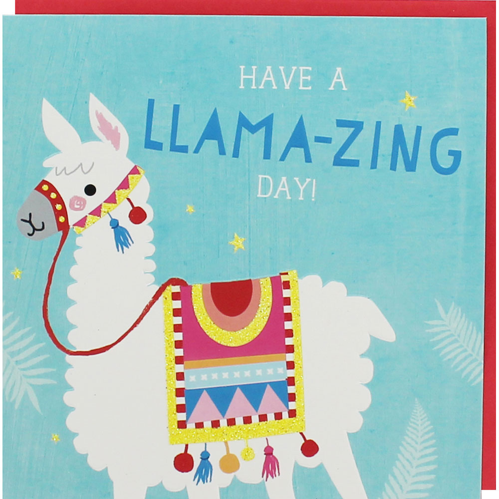 Llama Birthday Card Birthday Cards At The Works