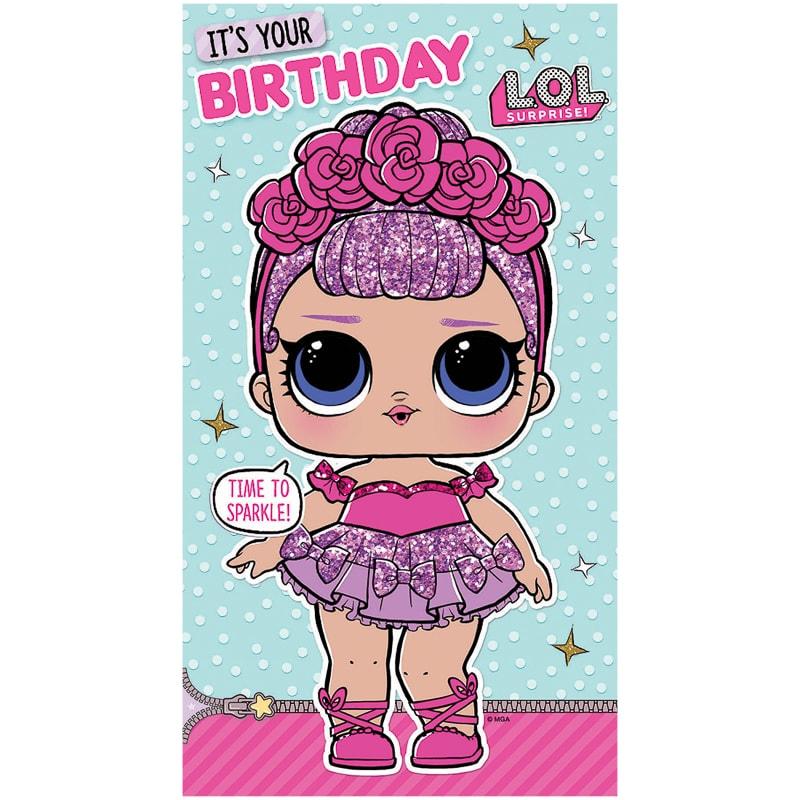 LOL Surprise Birthday Card Cards B M