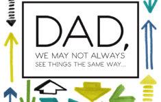 Happy Birthday Dad Card Printable