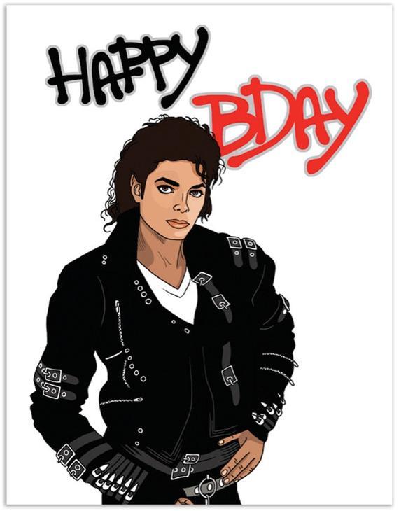 Make It Bad Birthday Card Greeting Card Hand Illustration