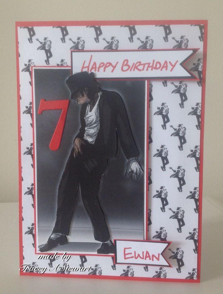Michael Jackson Birthday Card Birthday Ecards