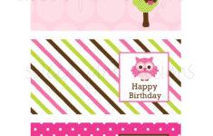 Mini Birthday Cards Printable