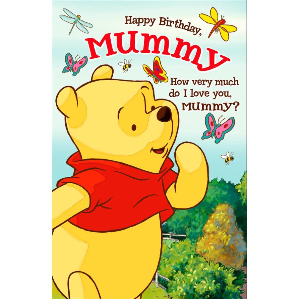 Mummy Winnie The Pooh Pop Up Birthday Card 465207 0 1