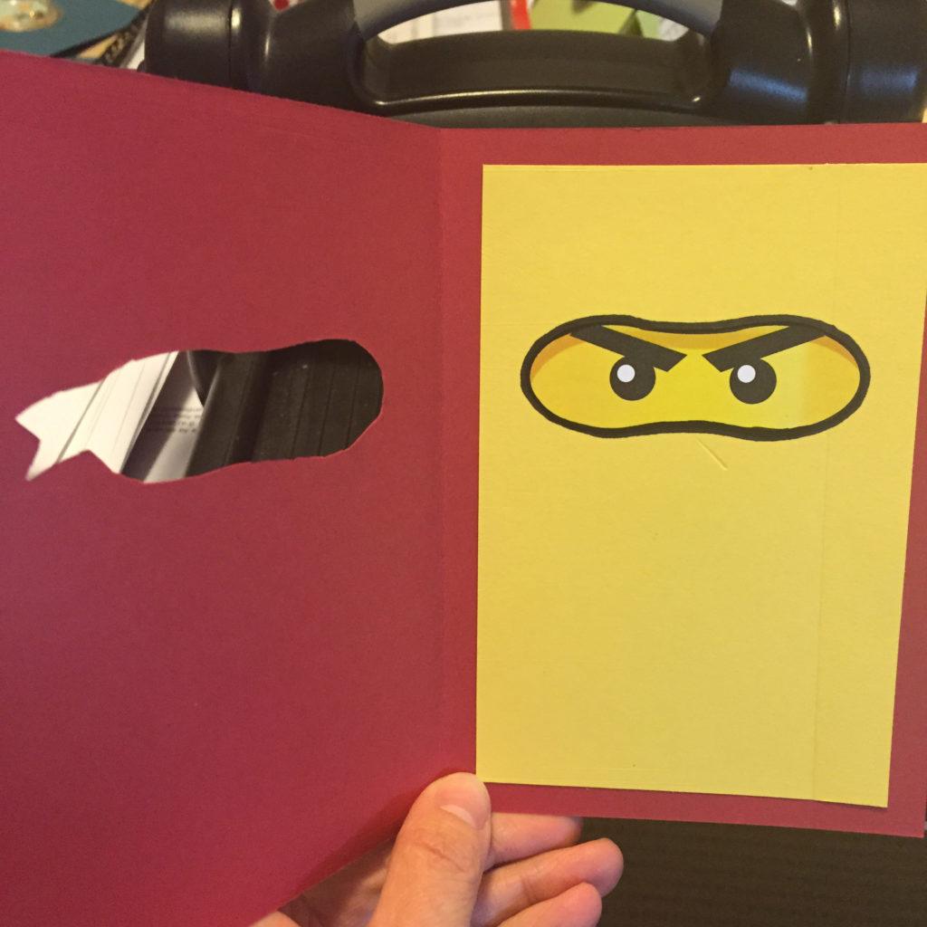 Ninjago Birthday Card Caro s Pretty Things