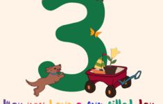 Printable Birthday Cards 3 Year Old Boy