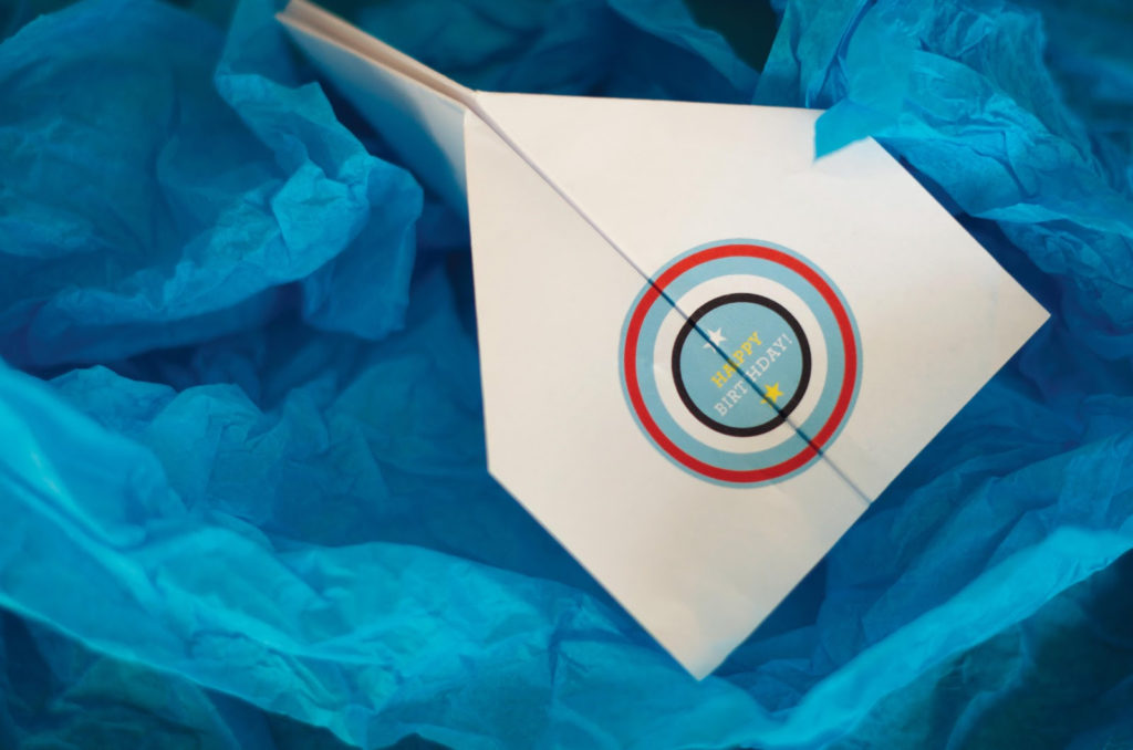 Paper Airplane Birthday Cards