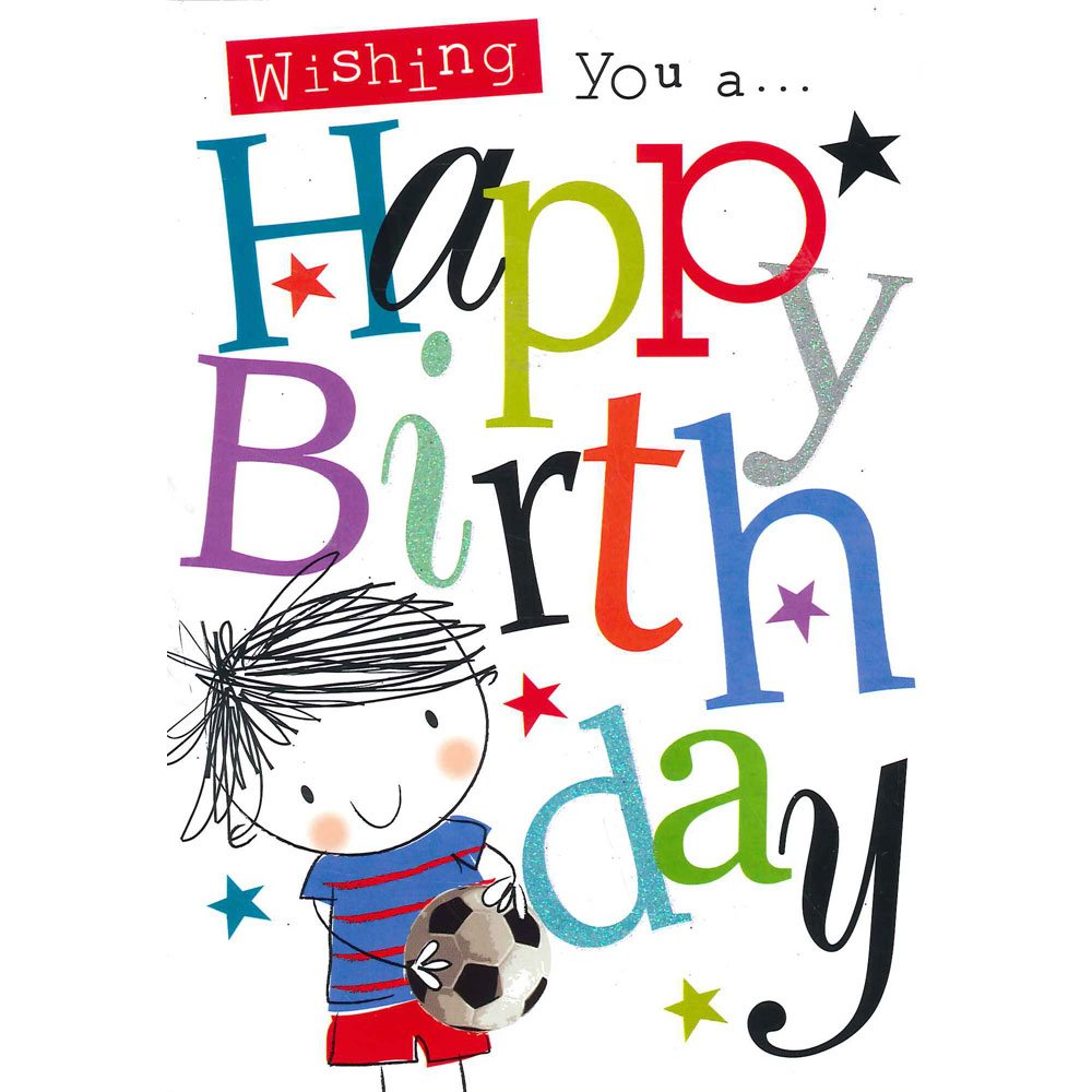 Paper Place Birthday Boy Wishes Card Birthday Cards At