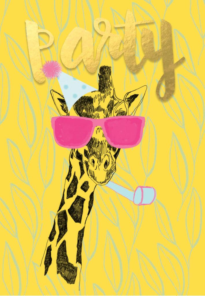 Party Animal Birthday Card Free Greetings Island