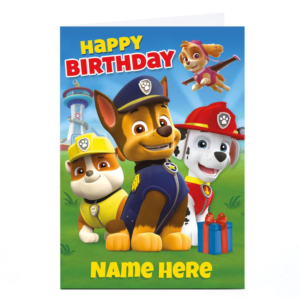 Paw Patrol Happy Birthday Blue Balloon Bouquet The