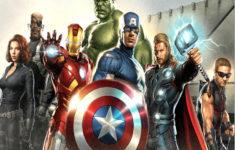 Printable Birthday Cards Avengers