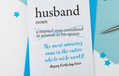 Free Printable Birthday Cards For Husband