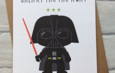 Lego Star Wars Birthday Card Printable