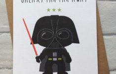 Printable Lego Star Wars Birthday Cards