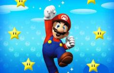 Super Mario Birthday Card Printable