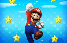 Super Mario Printable Birthday Card