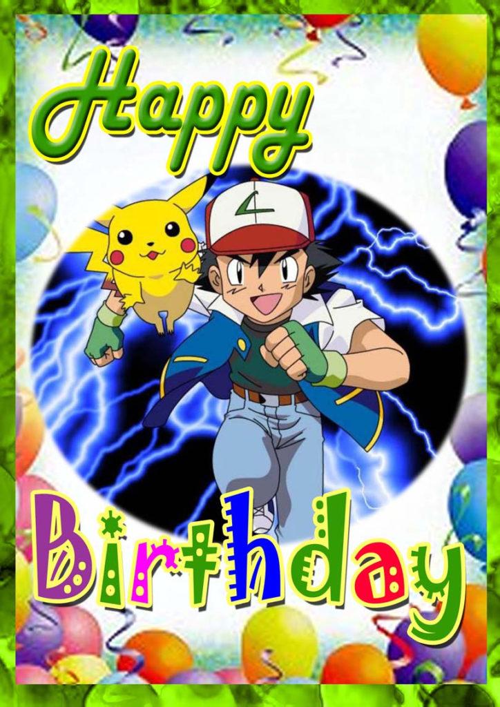 Pokemon Birthday Card Free Printable Birthday Cards