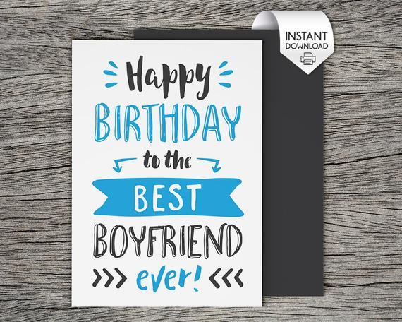 Printable Birthday Card Happy Birthday To The Best