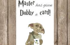 Printable Birthday Cards Harry Potter