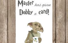 Harry Potter Happy Birthday Card Printable
