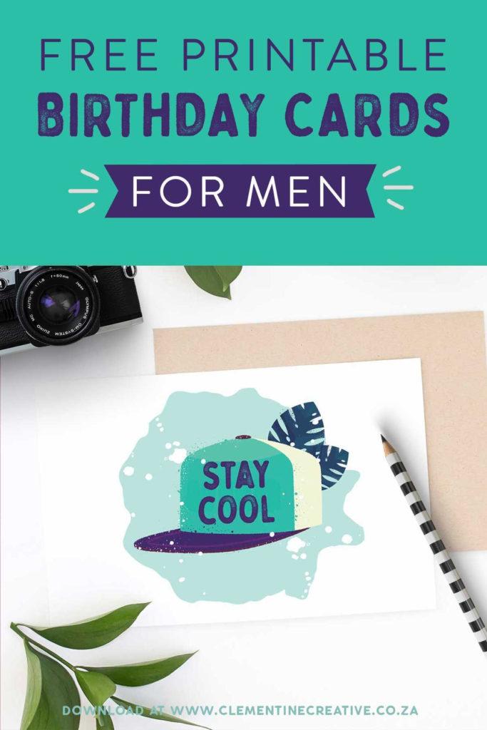 Printable Birthday Cards For Him Premium Birthday