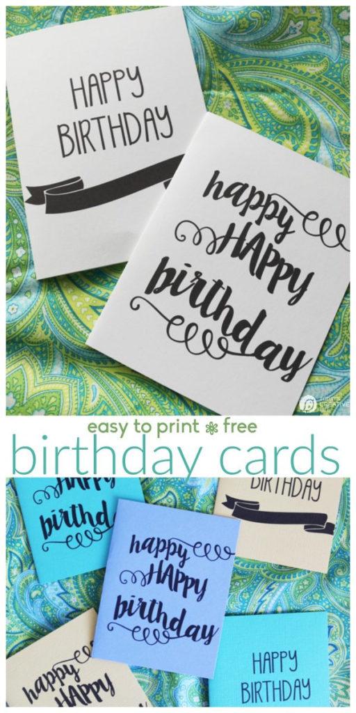 Printable Birthday Cards Free Printables Today s