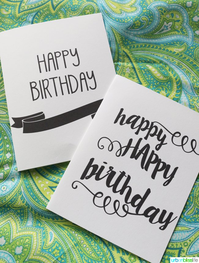 Printable Birthday Cards With Envelope Liner Today s