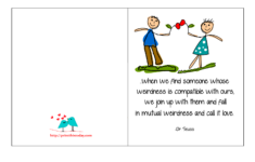 Free Printable Love Birthday Cards