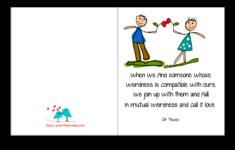 Romantic Printable Birthday Cards