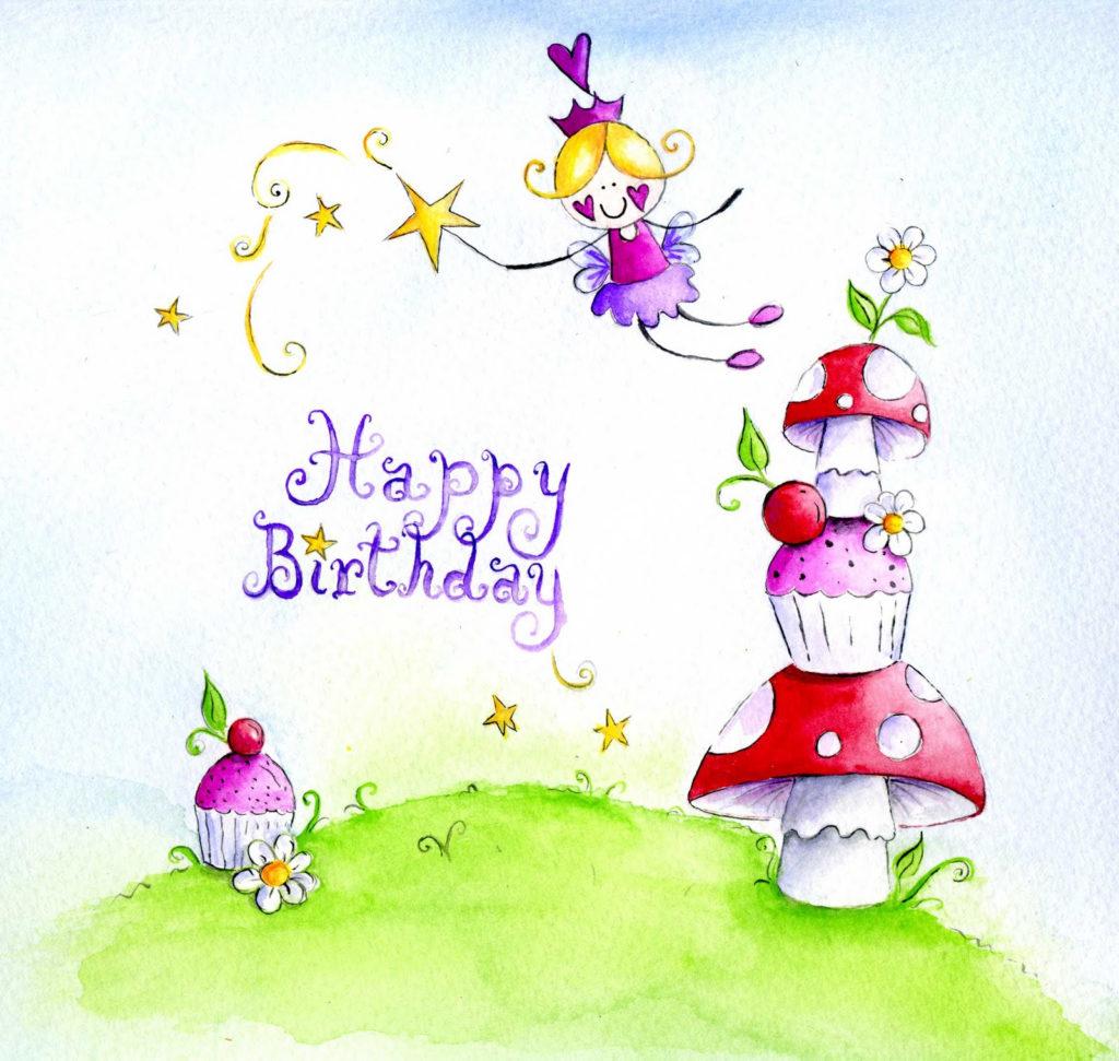 Purplefairylady1 Playing With Paint Fairy Happy Birthday