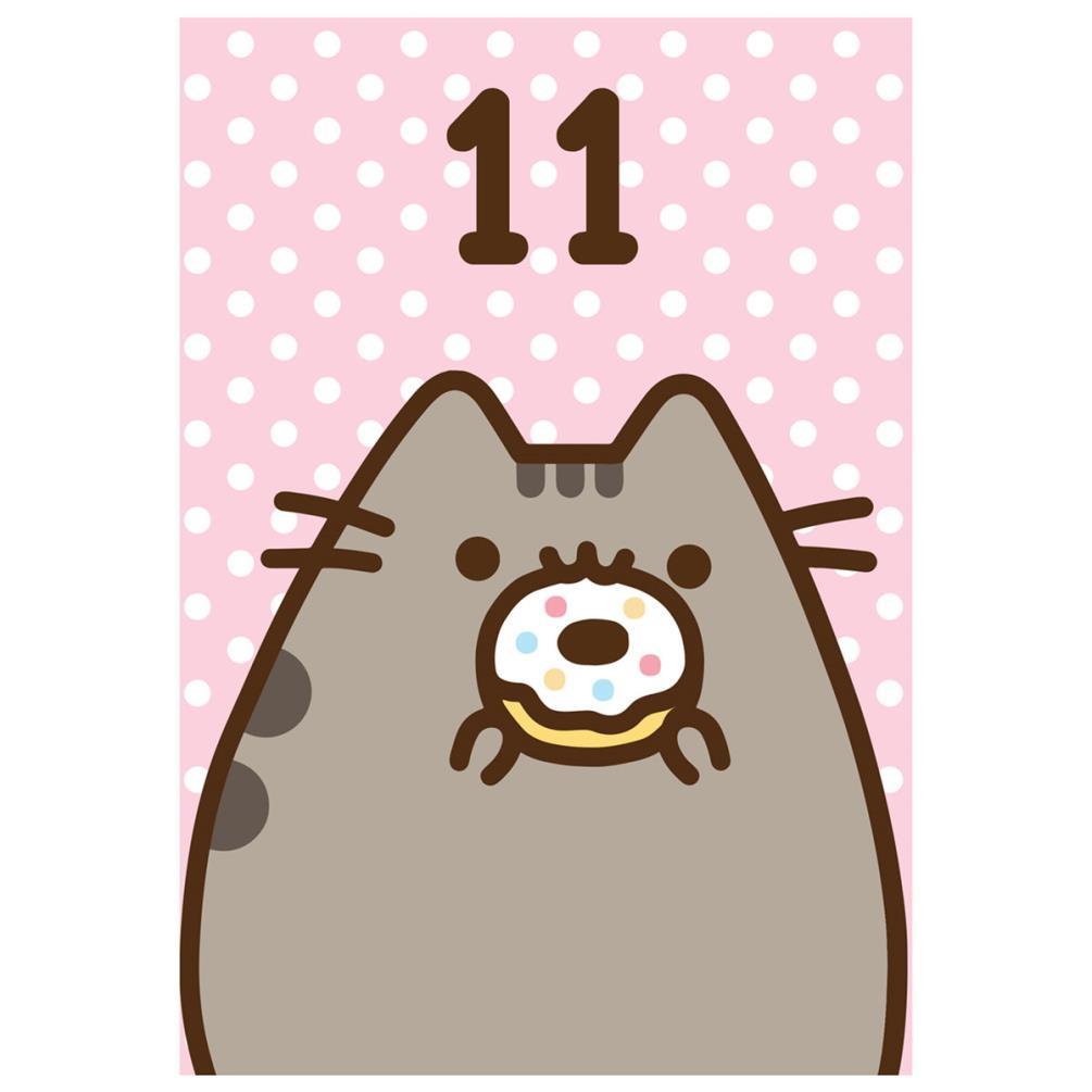 Pusheen 11th Birthday Card 261325 Character Brands