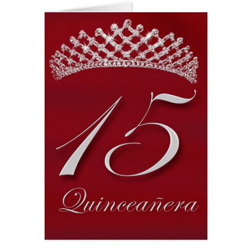 Quincea era For The 15th Birthday Cards
