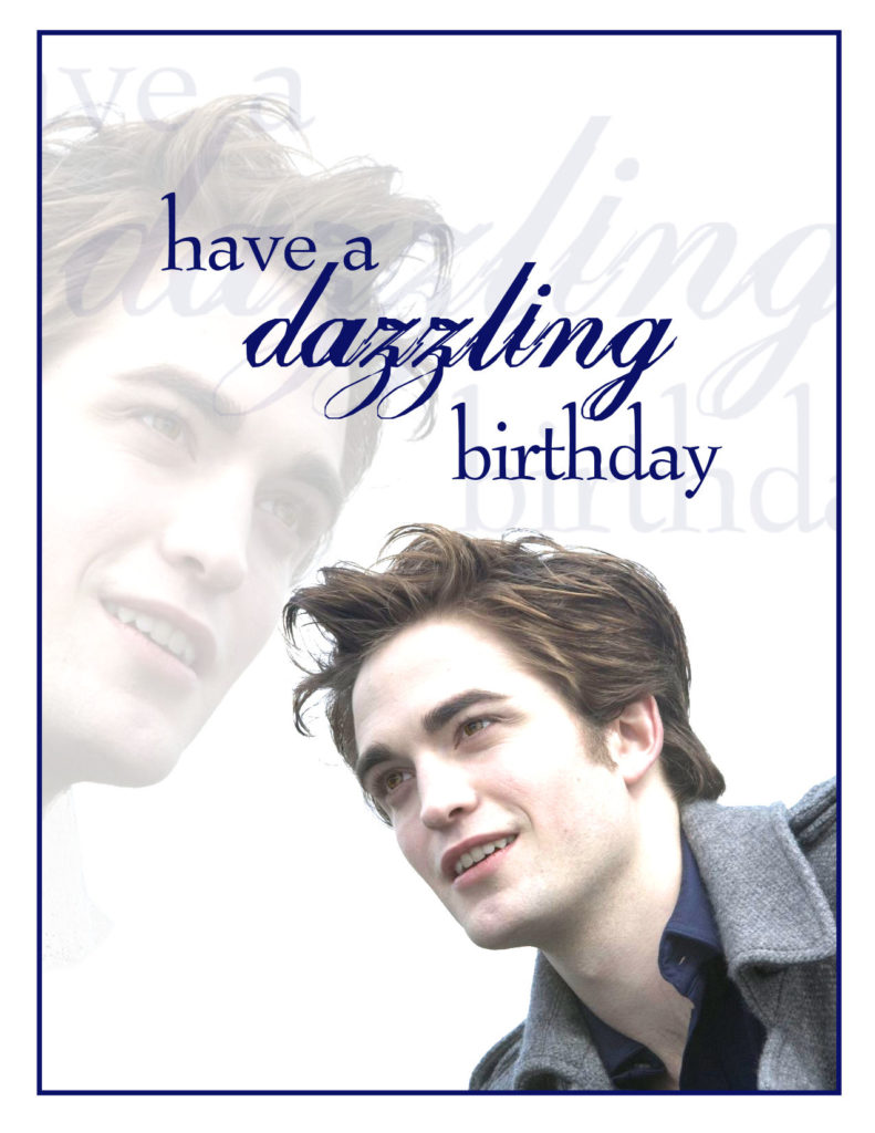 Saturday Special Twilight Birthday Cards