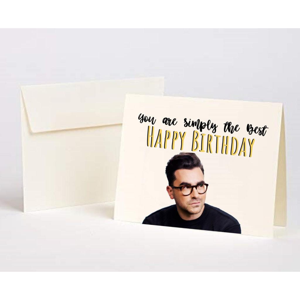 Schitts Creek Happy Birthday Greeting Card David Rose