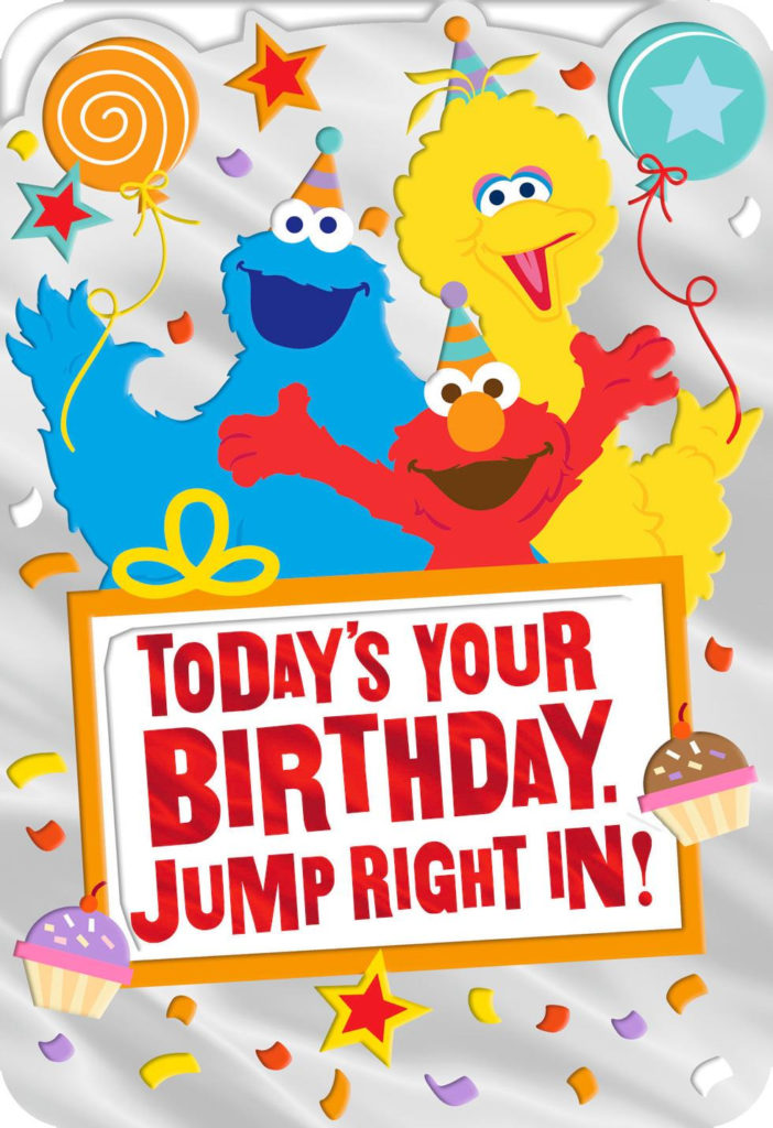 Sesame Street Elmo Big Bird And Cookie Monster Birthday