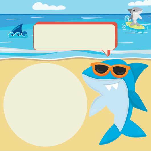 Shark Printables Free Planners Game Cards And Invitation