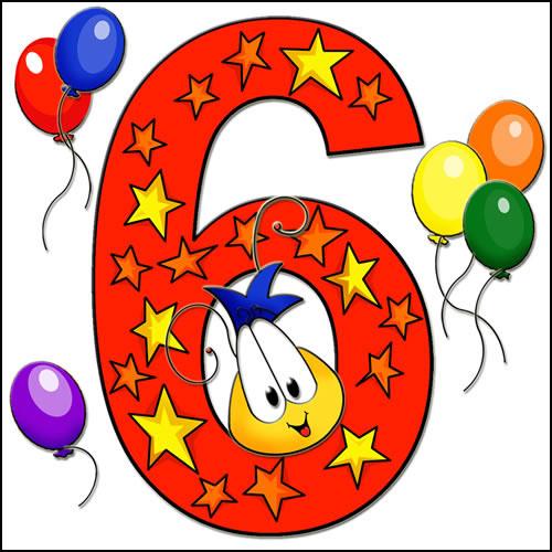 Sixth Birthday Card 6th Birthday Card Childrens