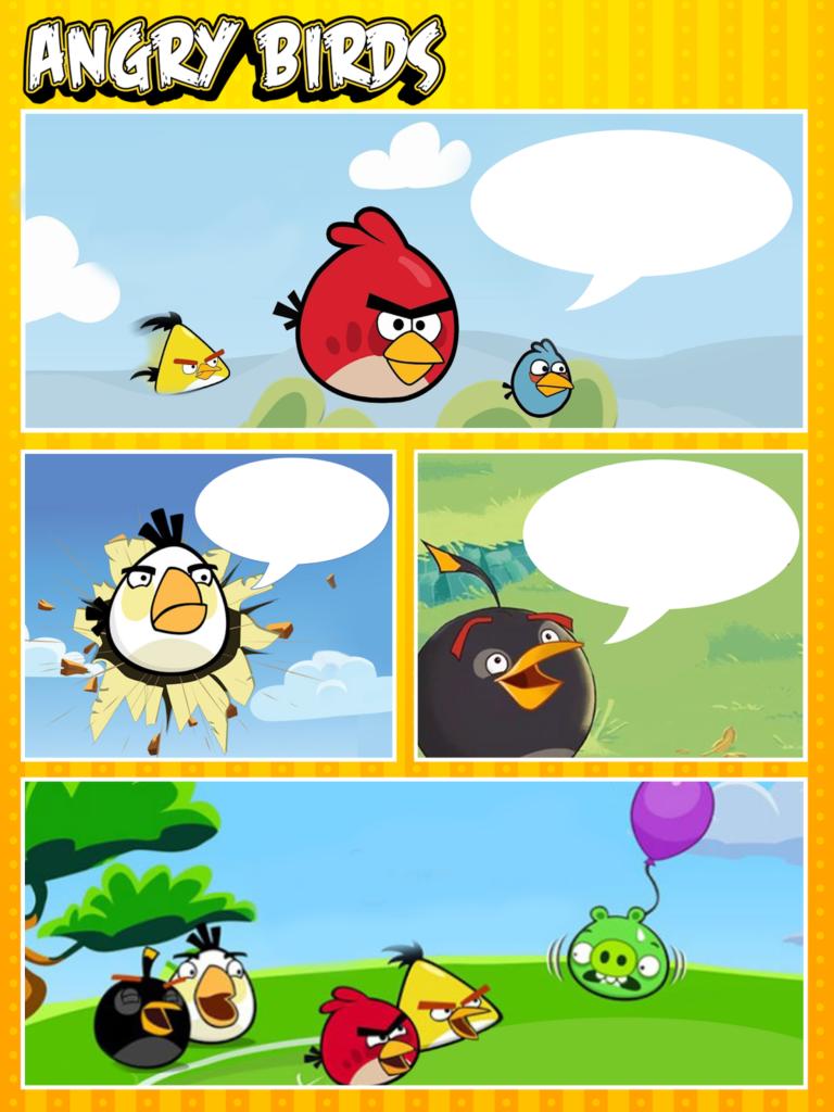 So Original Angry Birds Free Printable Invitations Frames