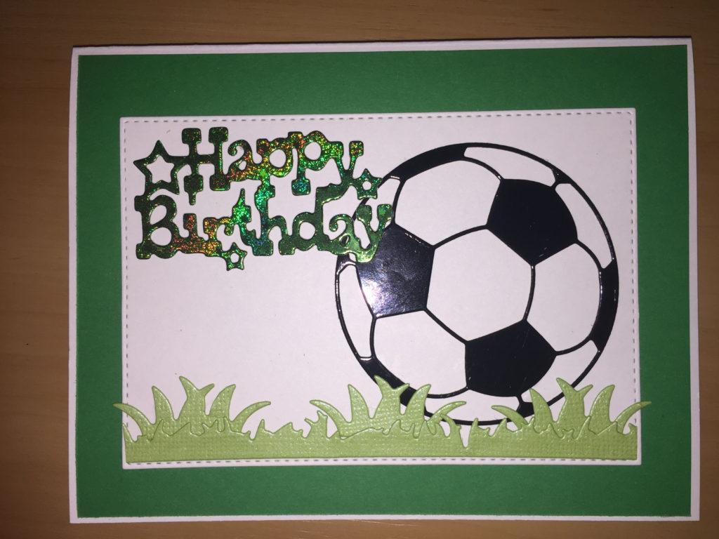 Soccer Birthday Card For Boys Birthday Cards For Boys