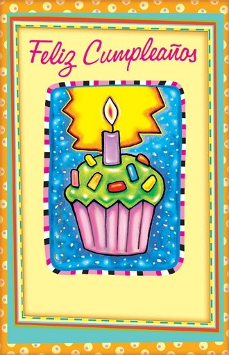 Spanish Birthday Cards Spanish Birthday Cards Cards