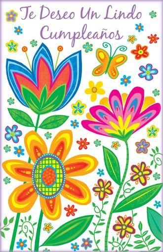 Spanish Birthday Cards Spanish Birthday Wishes Happy