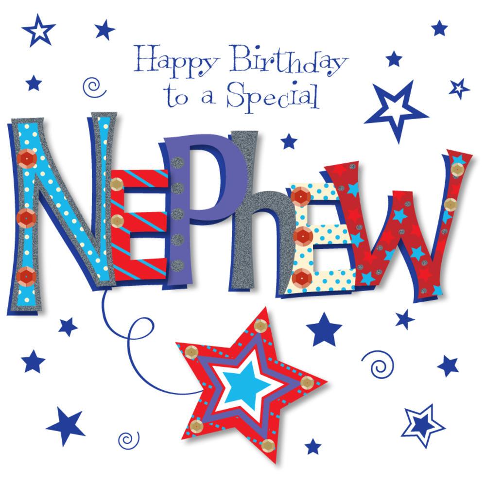 Special Nephew Happy Birthday Greeting Card Cards